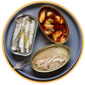 Conservas de pescado y marisco