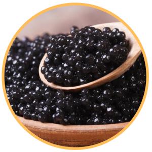 Caviar y delicatessen